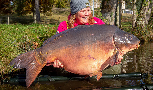 70lb Barrier Broken - Old Oaks Carp Lake | Angling Lines Blog