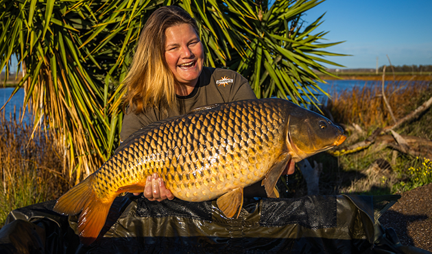 Bluewater Lakes carp haul topped by 90 lb 2 oz venue record