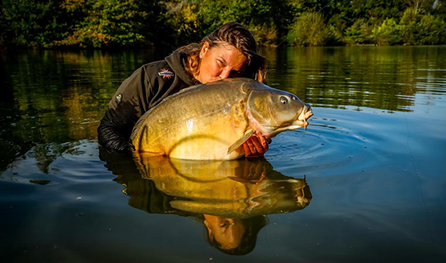 Lac des Cordeliers, a pearl of a carp lake in the French Alps ...